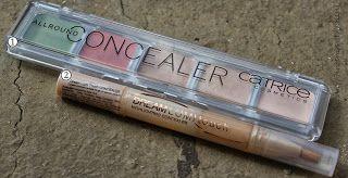 1. Trusa Catrice- Allround concealer 2. Concealer Dream LumiTouch