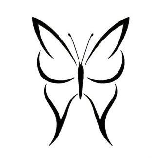 17 Best ideas about Simple Butterfly Tattoo on Pinterest ...