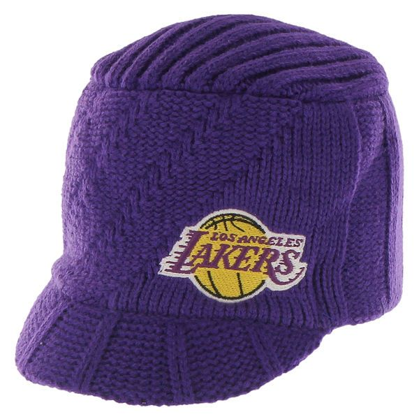Women's Los Angeles Lakers '47 Brand Purple Carrien Knit Beanie, Your Price: $21.99