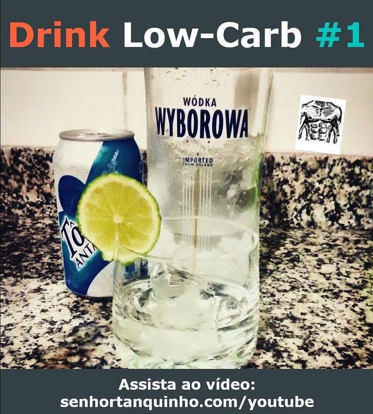 [Receita] Drink Low-Carb #1 - Nosso drink low-carb favorito!  Uma receita simples fácil e gostosa para animar o sábadão!  O vídeo completo da receita está em nosso canal: http://ift.tt/1RxCWAS  Ingredientes: - 1 dose de vodka - 2 doses de tônica diet - 1/4 de limão espremido - 3 pedras de gelo - adoçante a gosto (opcional)  Preparo: misturar tudo! . . . . #paleo #paleobrasil #primal #lowcarb #lchf #glutenfree #lactosefree #semgluten #semlactose #cetogenica #keto #atkins #dieta #emagrecer…
