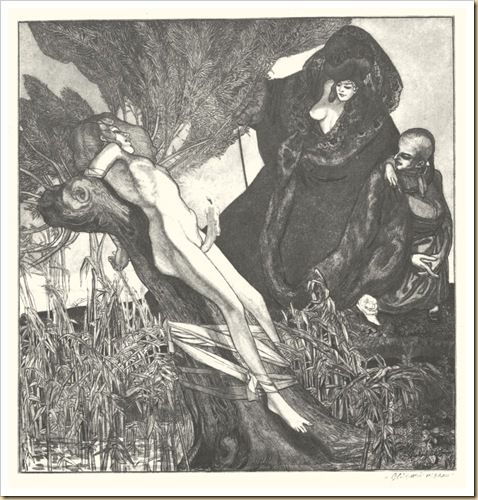 Erotic illustrations by eric von bayros