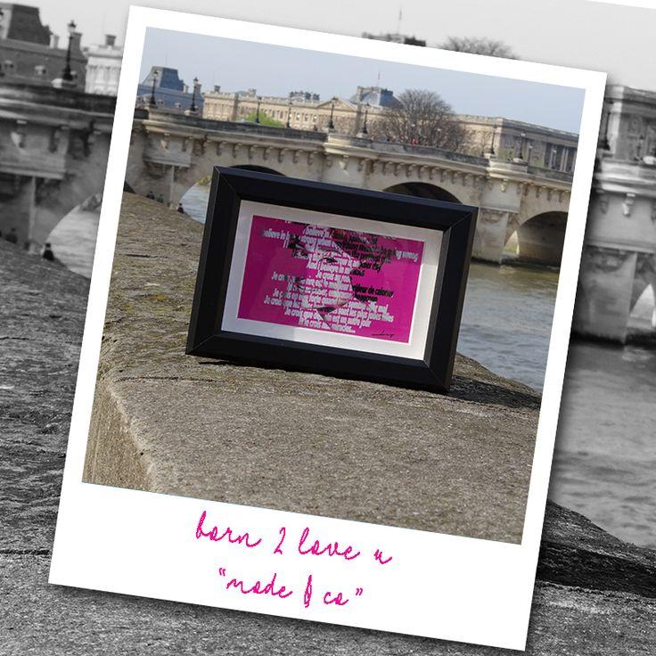 #cartepostale #audreyhepburn #paris #photo #pink #mode #décoration #objetdeco #originale #unique