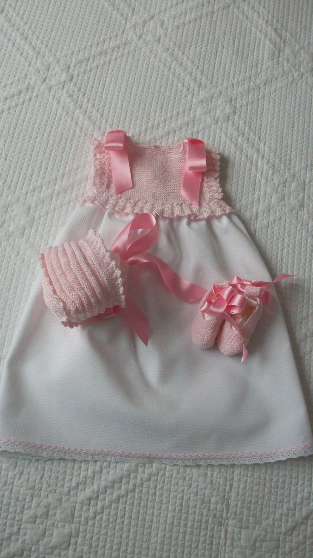 Faldón de perle verano sin mangas color rosa