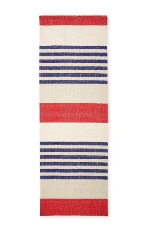 Buy Marine Wool Stripe Runner from the Next UK online shop