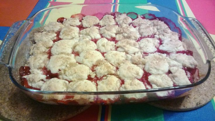 red currant cobbler