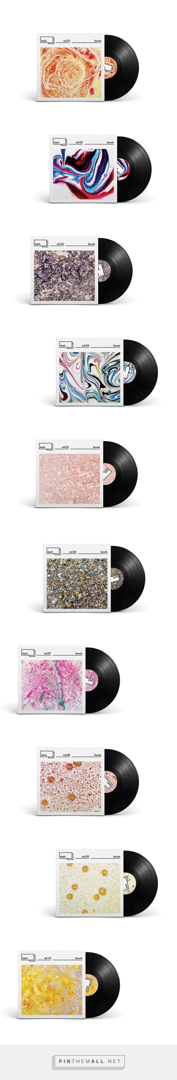 INSRT. on Branding Served curated by Packaging Diva PD. Album cover packaging patterns that are sure to inspire you. I LIKE THE WAY THESE ALBUM COVERS USE VISUALLY INTERESTING PATTERS TO DRAW ATTENTION