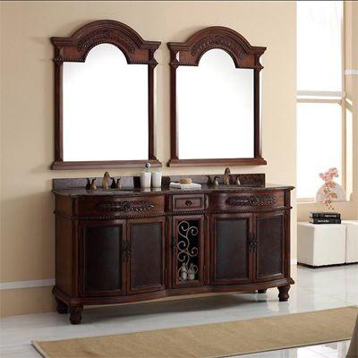 Awesome Websites Best Deal James Martin Double Granite Top Bathroom Vanity Solid Wood