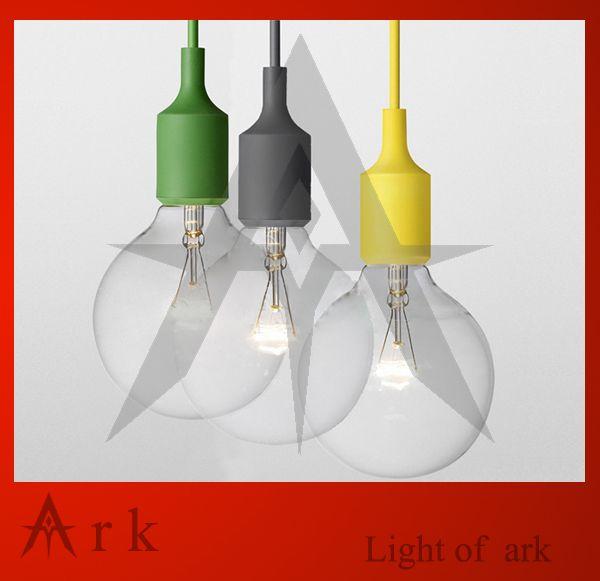 Encontrar Más Luces Colgantes Información acerca de 1 unids Muuto lámpara E27 socket contemporáneo Edison Chandelier Light Lamp colgante colgante de techo sin bombilla, alta calidad E27 5w, China e27 gu10 Proveedores, barato E27 6400k de Ark Lighting en Aliexpress.com