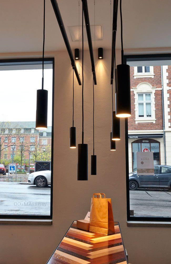nordlux mib 6 pendants featured at william co bar brasserie wine store fredericia. Black Bedroom Furniture Sets. Home Design Ideas