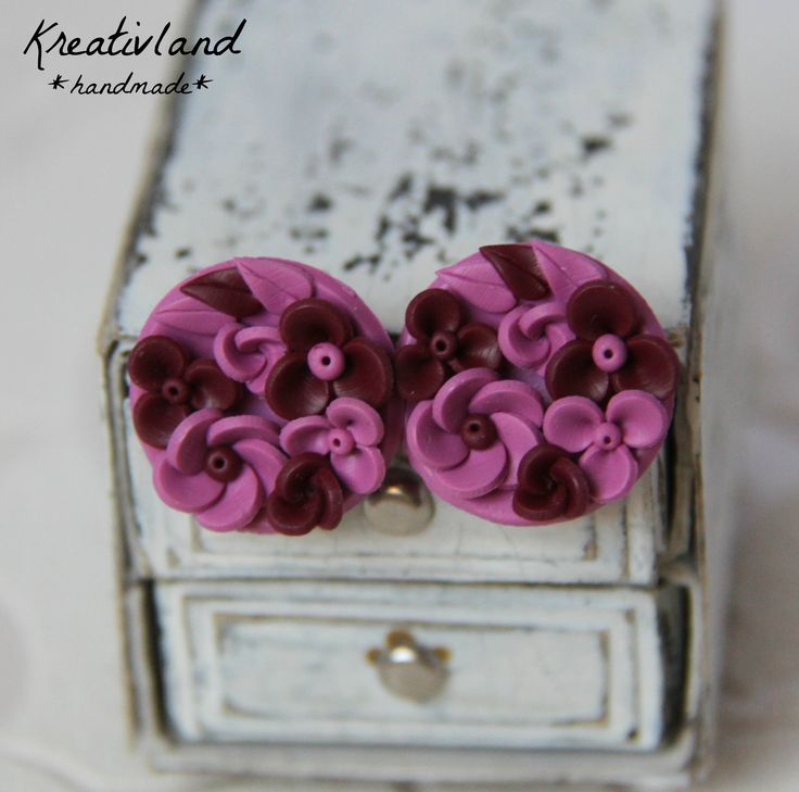 Mini potpourri #1 - handcrafted from polymer clay (own design)