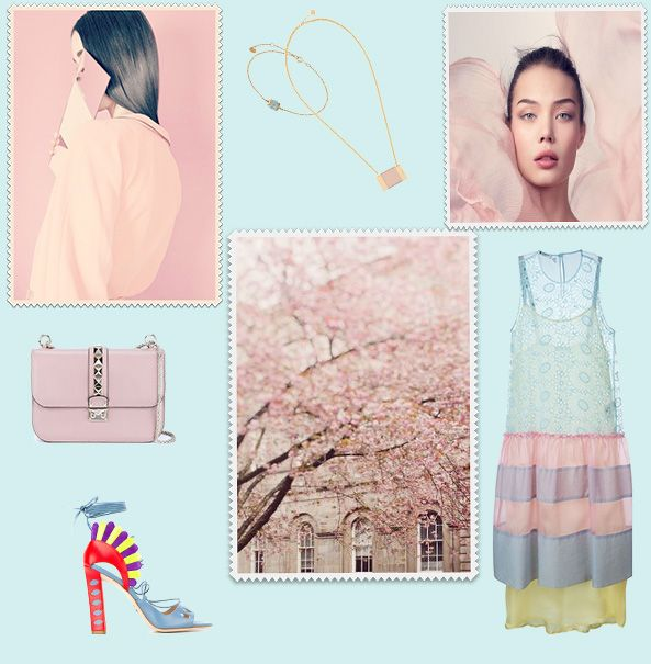 Pantone colors of the year: rose quartz and serenity offer every fashion lover such a great possibility to experiment with their wardrobes. Those two shades are never boring.