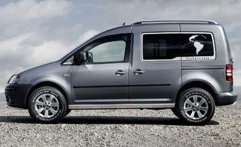 Volkswagen Caddy 4MOTION PanAmericana Concept - Autopedia
