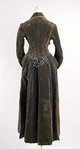 Coat Date: ca. 1881 Culture: American or European Medium: silk Accession Number: 1977.37