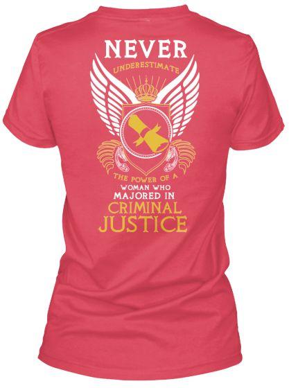 Limited Edition: Criminal Justice Major