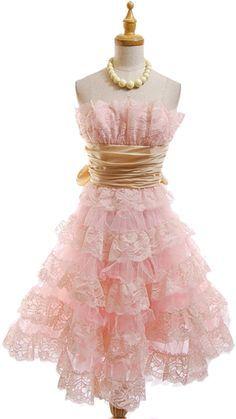 Shabby chic dress - So pretty :)