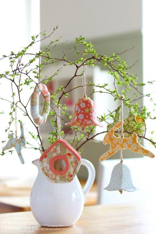Пасхальное деревце / Easter tree - Вечерние посиделки