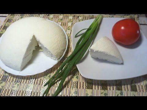 Jak zrobić domowy twaróg - przepis na biały ser - YouTube