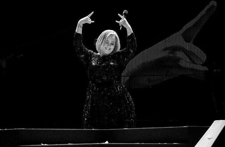 """Houston, TX / Toyota Center / Nov 10"" - Adele on Instagram"