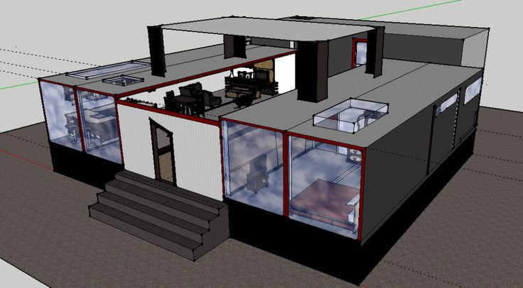 Shipping Container Homes Hit Indiegogo - iCreatived