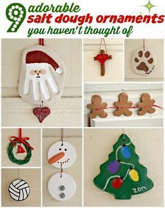 One of the cutest and most I formative links for salt dough ornaments ❤️