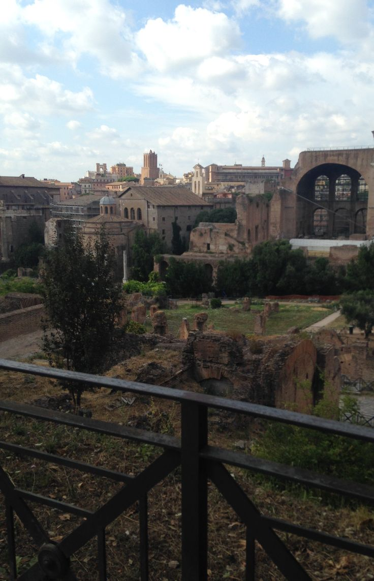 Beautiful view at the Roman Forum, day 3.