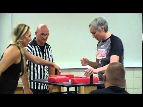 2015 Utah Summer Games Arm Wrestling Lisa Woolfley - YouTube