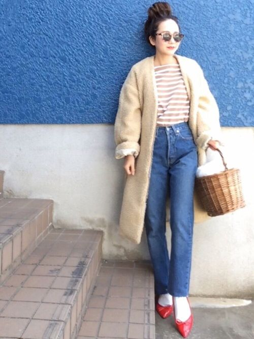 shino◡̈*❤︎ style2017 from WEAR japan page