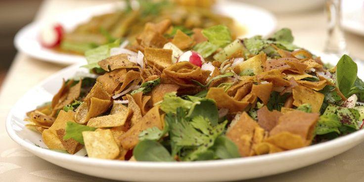 Αραβική σαλάτα Fattoush