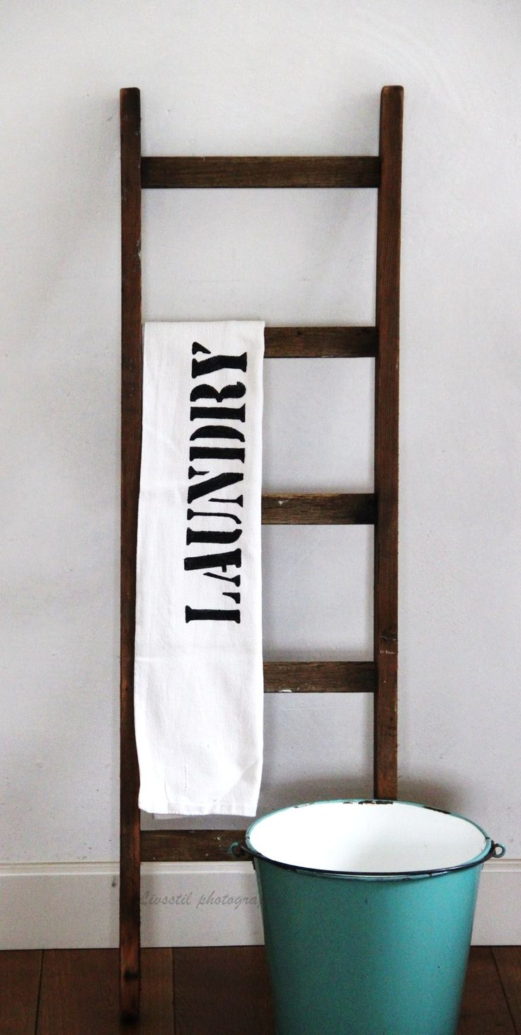 25 best ideas about oude ladder op pinterest oude ladder decor oude houten ladders en ladders - Decoratie interieur trap ...