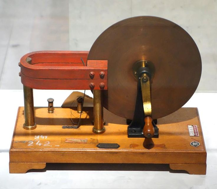 Model of faraday 39 s disk the first electric generator for Michael faraday electric motor