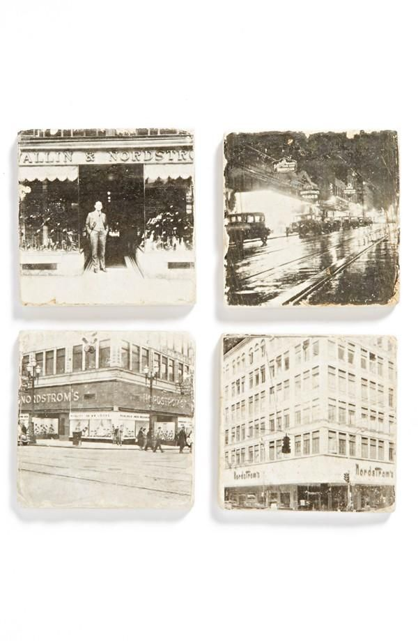 Take a slice of Nordstrom home with you - Exclusive 'Nordstrom' Coasters