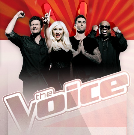 Celebrity musician coaches Christina Aguilera, Cee Lo Green, Adam Levine and Blake Shelton return along with Carson Daly as host. Christina Milian joins as the Social Media Correspondent.   The show's innovative format features three stages of competition: the blind audition, a battle phase, and finally, the live performance shows.