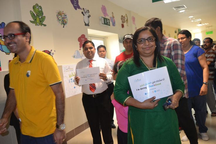 18th April, 2015: 'Test4Good' , an intiative by KHDA, was held at IIS, DSO.