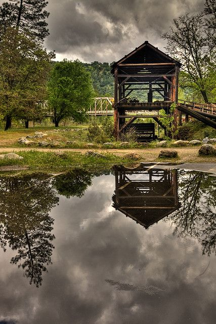 Sutter's Mill, the site of gold discovery in Coloma, California. Photo by...Jeffrey Sullivan.