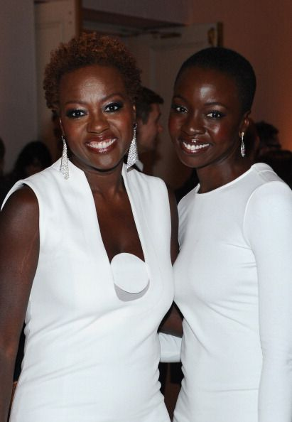 Viola Davis and Danai Gurira - these two should play mother and daughter in a movie/tv show
