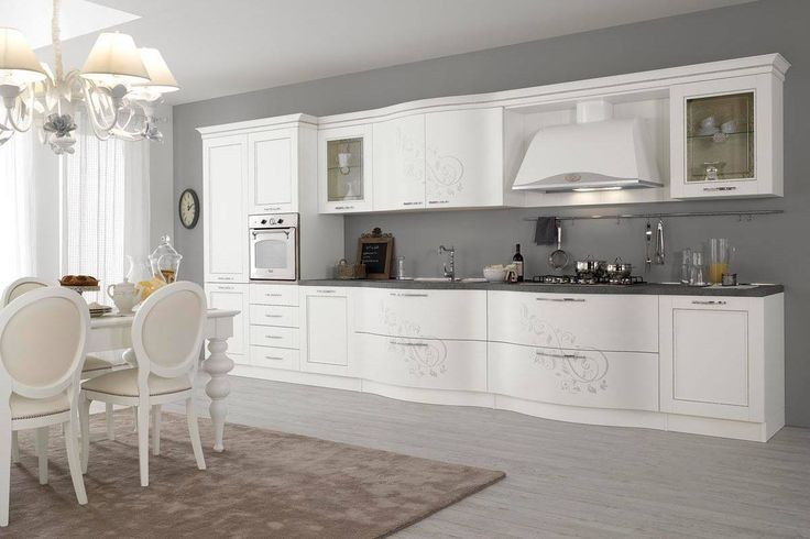 the kitchens of the prestige line are of quality and are inspired by the genuine values of tradition maintaining however its own identity http
