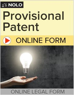 Protect your invention by filing a Provisional Patent Application  today! It's easy, thorough – and you don't have to pay until  you're done.