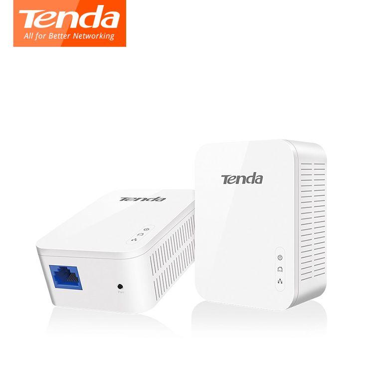 Tenda PH3 1000 Mbps PLC Powerline KIT Adaptateur Réseau Gigabit Puissance ligne Adaptateur ethernet homeplug