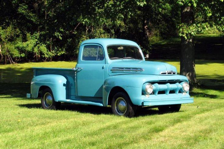 1951 ford f100 pick up truck pickups panels vans. Black Bedroom Furniture Sets. Home Design Ideas