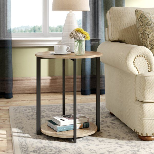 Ryanda Low End Table Round End Tables End Tables Small End Tables