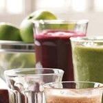 "Blackberry-Kiwi  Ingredients Blackberry - 1 cup Kiwifruit - 1 fruit (2"" dia) Pear - 1 medium Peppermint - 30 leaves Pineapple (peeled, cored) - 1/4 fruit Directions Process all ingredients in a juicer, shake or stir and serve."