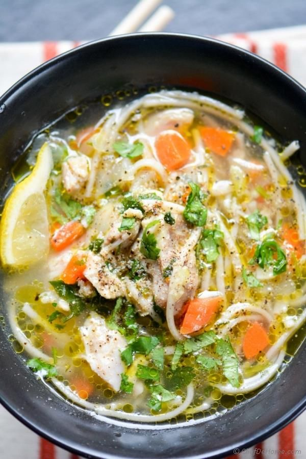 Chicken Noodle Soup in Pressure Cooker. 20 minutes to a made-from-scratch, gluten free, one pot Chicken Noodle Dinner!