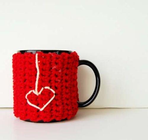 bricolaje : Decorar Tazas con Crochet