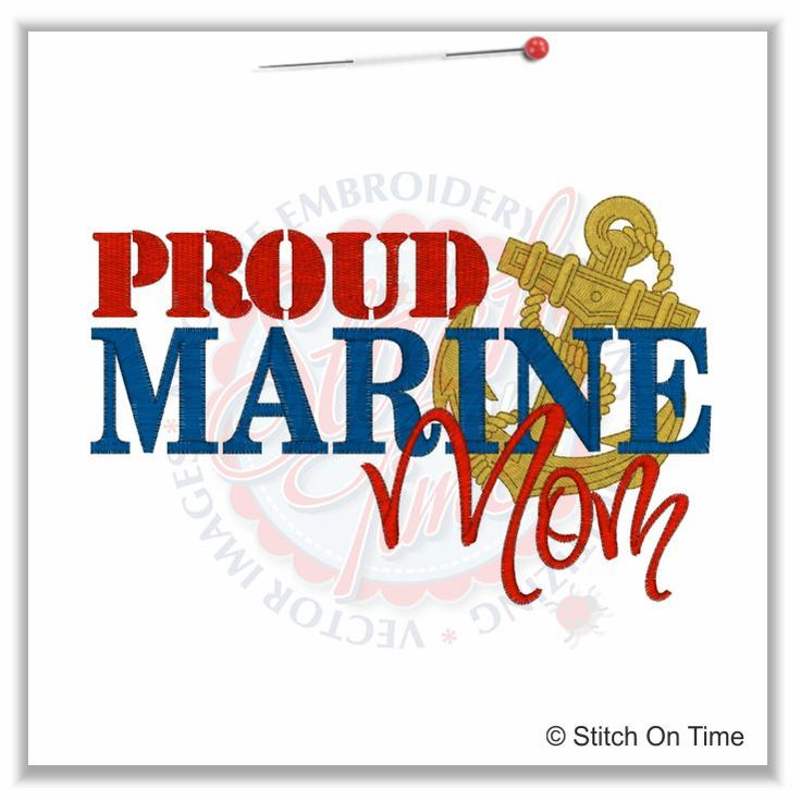 Military Mom Quotes | 5148 Sayings : Proud Marines Mom 5x7