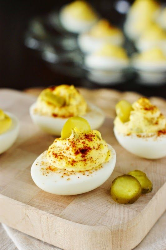 Southern Deviled Eggs- This was very good. I also tried it altered with peppercorn ranch instead of mayo and added a squirt of Siracha sauce