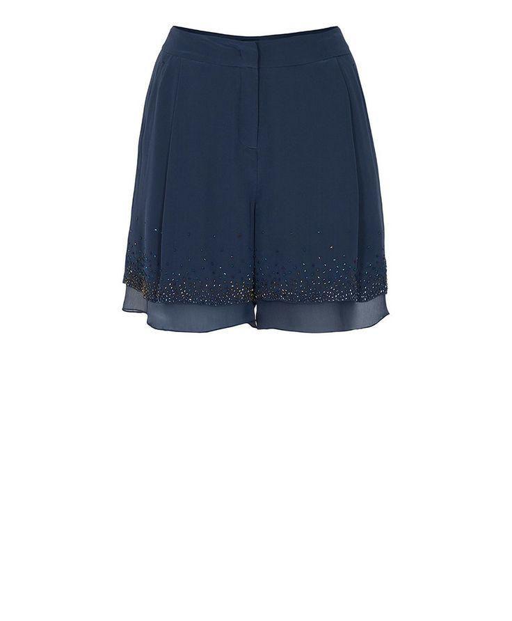 FILICUDI Shorts in crêpe de Chine e creponne di seta | MAX&Co. Online Shop