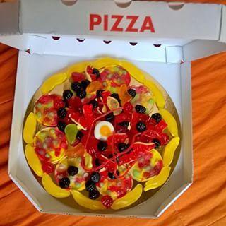 Haribo pizza