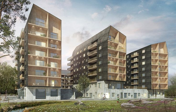 FOJAB arkitekter, Geologen, Växjö wood architecture