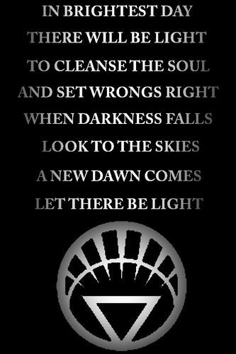 white lantern oath - Google Search