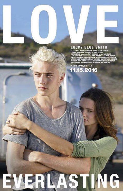 LOVE EVERLASTING: Emily Procter, Lucky Blue Smith, Christie Burke